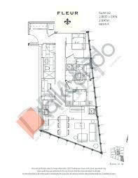 Centralized Floor Plan by Fleur Condos Talkcondo