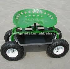 siege de jardinage tracteur agricole siège de rolling siège de jardin sur roues avec