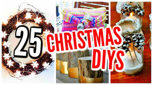 25 diy christmas decorations holiday room decor crafts