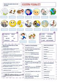 describing personality esl worksheet of the day by bbubi march
