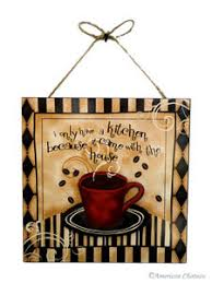 kitchen wall plaques bistro decor