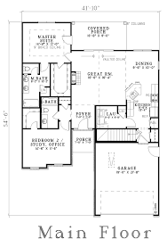 Bi Level Floor Plans With Attached Garage by House Plan 62264 At Familyhomeplans Com