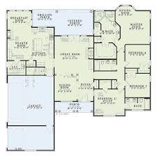 european style house plan 4 beds 3 00 baths 2405 sq ft plan 17 2060