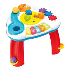 infant activity table toy winfun multicolor balls n shapes musical infant activity table