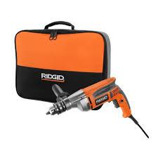 ridgid 8 1 2 in heavy duty variable speed reversible drill