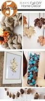 diy fall home decorations easy diy fall home decorations