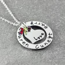 personalized family necklace personalized family name necklace custom family necklace
