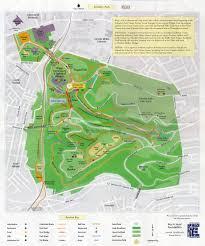 Prospect Park Map Schenley Park Map