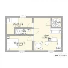 appartement 2 chambre appartement 2 chambres 50 m2 plan 5 pièces 46 m2 dessiné par briperre
