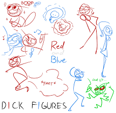 dick figures contest pic by pikachudino on deviantart