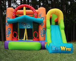 kidwise double shot bounce house u0026 reviews wayfair