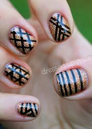 nail art with striping tape best nail 2017 nail art débutant