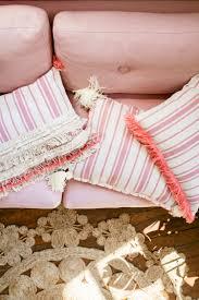 ikea hack 3 diy pillows with outdoor rug u2014 treasures u0026 travels