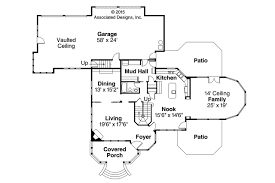 small victorian home plans victorian house plan canterbury 30 516 by associated designs