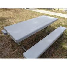 picnic table cover set table gloves fitted 6 table cover set techno gray table gloves