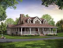 nice house plan with wrap around porch 3 country plans old