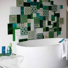 bathroom wall decorations ideas modern patchwork wall decorating 30 amazing accent wall design ideas