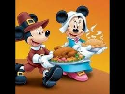 happey thanksgiving from mickey mouse