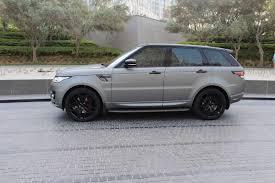 matte range rover range rover sport autobiography matt grey hire dubai jamal