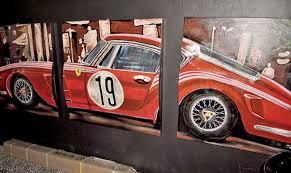 vintage ferrari art 3d wall art ferrari u2013 furious n fun