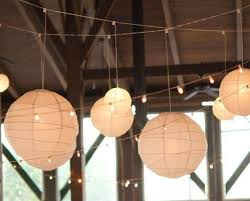 Paper Lighting Fixtures Paper Lantern Lights With String Lights Adorable Paper Lantern