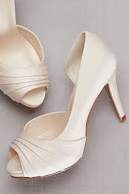 ivory wedding bridal shoes flats heels david s bridal