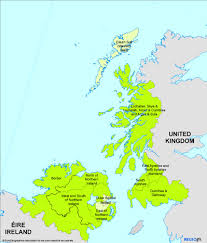 map uk ireland scotland regional policy inforegio atlas cross border co operation
