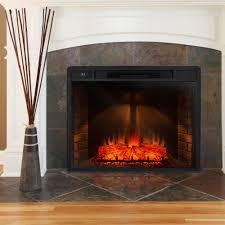 dimplex 23 inch standard electric fireplace insert log set