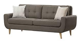 homelegance deryn mid century modern chair with tufted gift