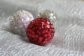 ornaments to craft 3 d sequin ornaments