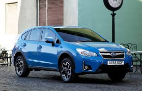 blue subaru 2017 2016 subaru xv arrives in the uk with improved quality and new tech