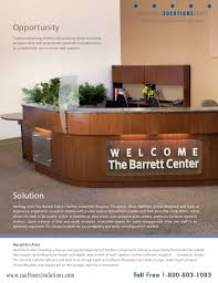 Accessible Reception Desk Medical Casework Solutions