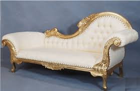 French Style Armchairs Uk Flower Carved Sofa In Gold Leaf With Cream Fabric The French
