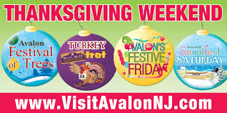 thanksgiving weekend event details in avalon avalon new jersey
