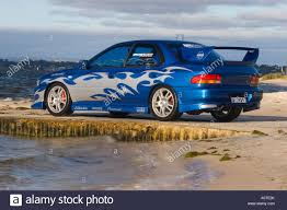 modified sports cars modified performance subaru wrx japanese sports car sitting on a
