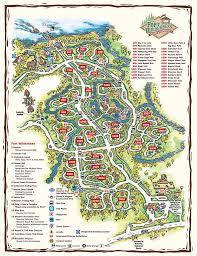 Shawnee Map Resort Maps 2008 Photo 9 Of 17