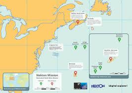 Map Of Bermuda Nekton Ubique