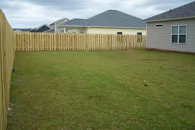 Back Yard House Outdoor And Patio Modified Point Backyard Fence Mixed With