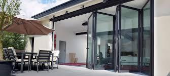Glass Bifold Doors Exterior Glass Bifold Doors Massagroup Co
