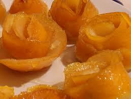 десерт апельсиновая роза