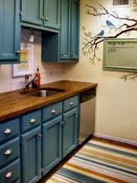 Subway Tile Backsplash Turquoise Cabinets Subway Tile - Turquoise kitchen cabinets