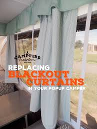 Fold Up Curtains Replacing Curtains In A Pop Up Cer Cfire Travelers
