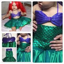 Ariel Mermaid Halloween Costume Baby Clara Mermaid Babies Toddlers Girls