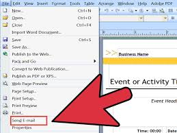 ms publisher newsletter templates free 3 ways to create a mail merge in publisher wikihow