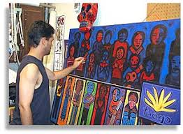 with artist jose ramirez contemporary in