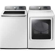 Cloths Dryers Samsung Dv48h7400ew 7 4 Cu Ft Electric Dryer White Sears