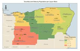 Oregon Counties Map by Olcc Liquor Stores And Products Open Recruitment Liquor Retail