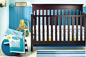 Whale Crib Bedding New Baby Boy Whale 8pcs Crib Bedding Set With