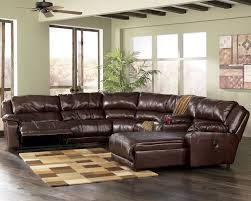 Wonderful Plush Leather Sofa Ashley Leather Furniture Store - Leather sofas chicago