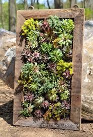 Wall Garden Planter by Best 25 Vertical Planter Ideas On Pinterest Succulent Wall